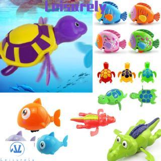 💜LEILY💜 Kid Cute Animals Classic Wind Up Baby Bath Toys