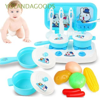 🍊16pcs/lot Gift Funny Training Children Developmental Kitchen Food Toys