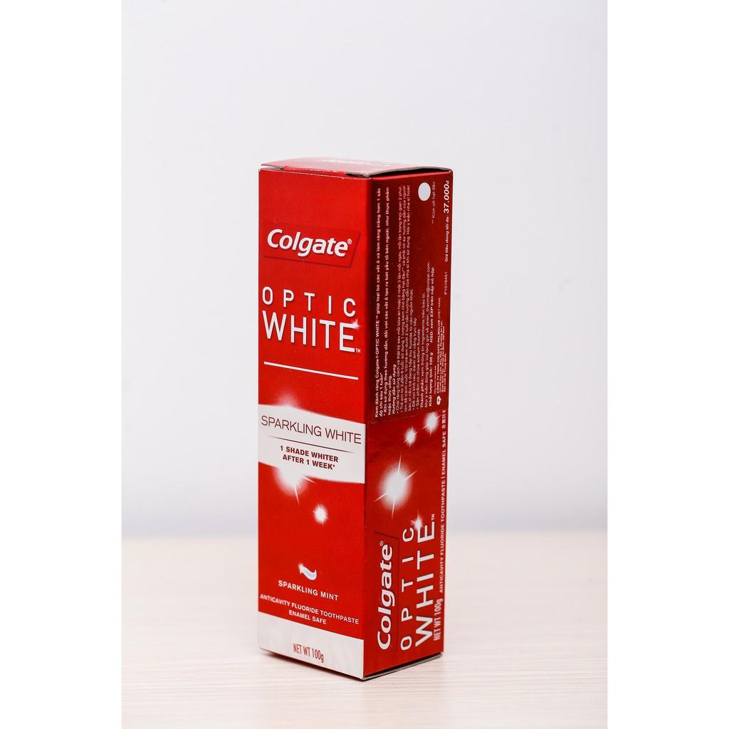 Kem đánh răng làm trắng răng Colgate Optic White 100g - 6920354811852