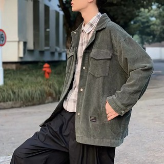 Corduroy jacket Japanese tooling jacket Casual style Corduroy jacket