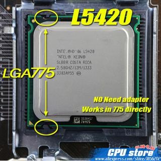 Cpu Xeon quad core – 4 nhân dành cho dòng main socket 775