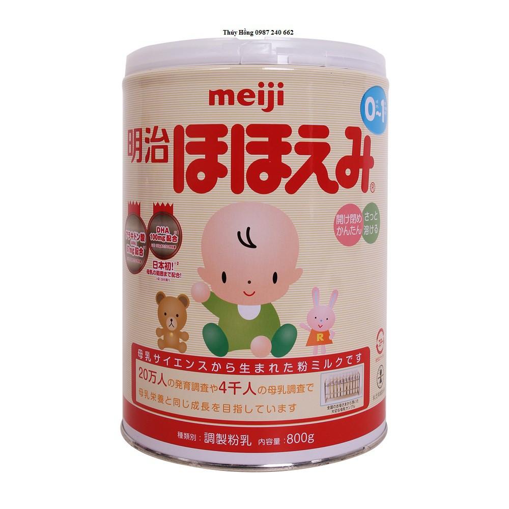 Sữa bột Meiji số 0 - 800gr (0-1 tuổi)
