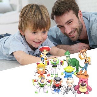 ✿READY STOCK✿10pcs Cartoon Anime Figures Model Toys PVC Collectible Boys Kids Gifts