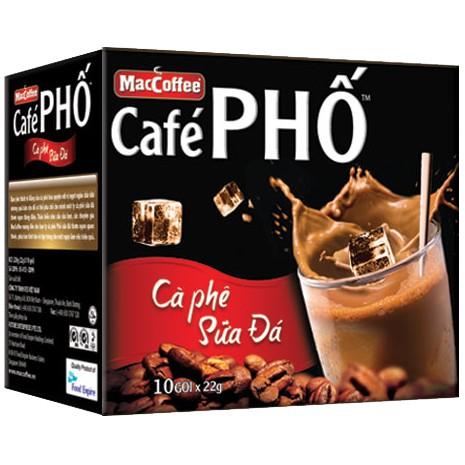 Cà Phê Sữa Đá Phố Hộp 240g ( 10 gói x 24g ) - 3018839 , 422514721 , 322_422514721 , 34000 , Ca-Phe-Sua-Da-Pho-Hop-240g-10-goi-x-24g--322_422514721 , shopee.vn , Cà Phê Sữa Đá Phố Hộp 240g ( 10 gói x 24g )
