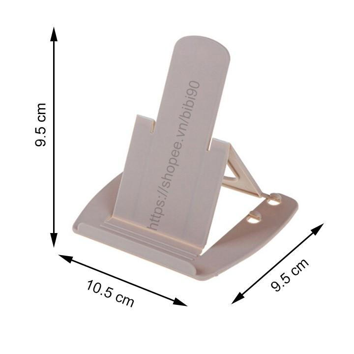 Giá đỡ điện thoại để bàn bằng nhựa điều chỉnh độ cao (T105) huytuan3010