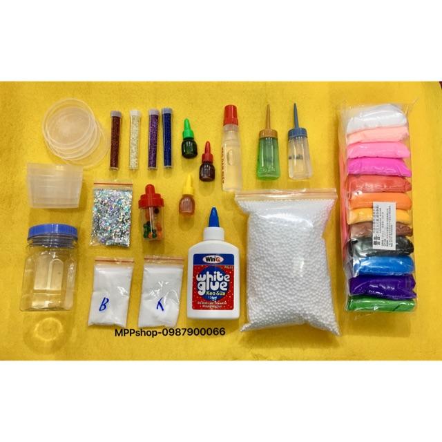 Bộ nguyên liệu làm slime , bịch sofclay 12 mầu có gói xốp - 3482657 , 941840793 , 322_941840793 , 170000 , Bo-nguyen-lieu-lam-slime-bich-sofclay-12-mau-co-goi-xop-322_941840793 , shopee.vn , Bộ nguyên liệu làm slime , bịch sofclay 12 mầu có gói xốp