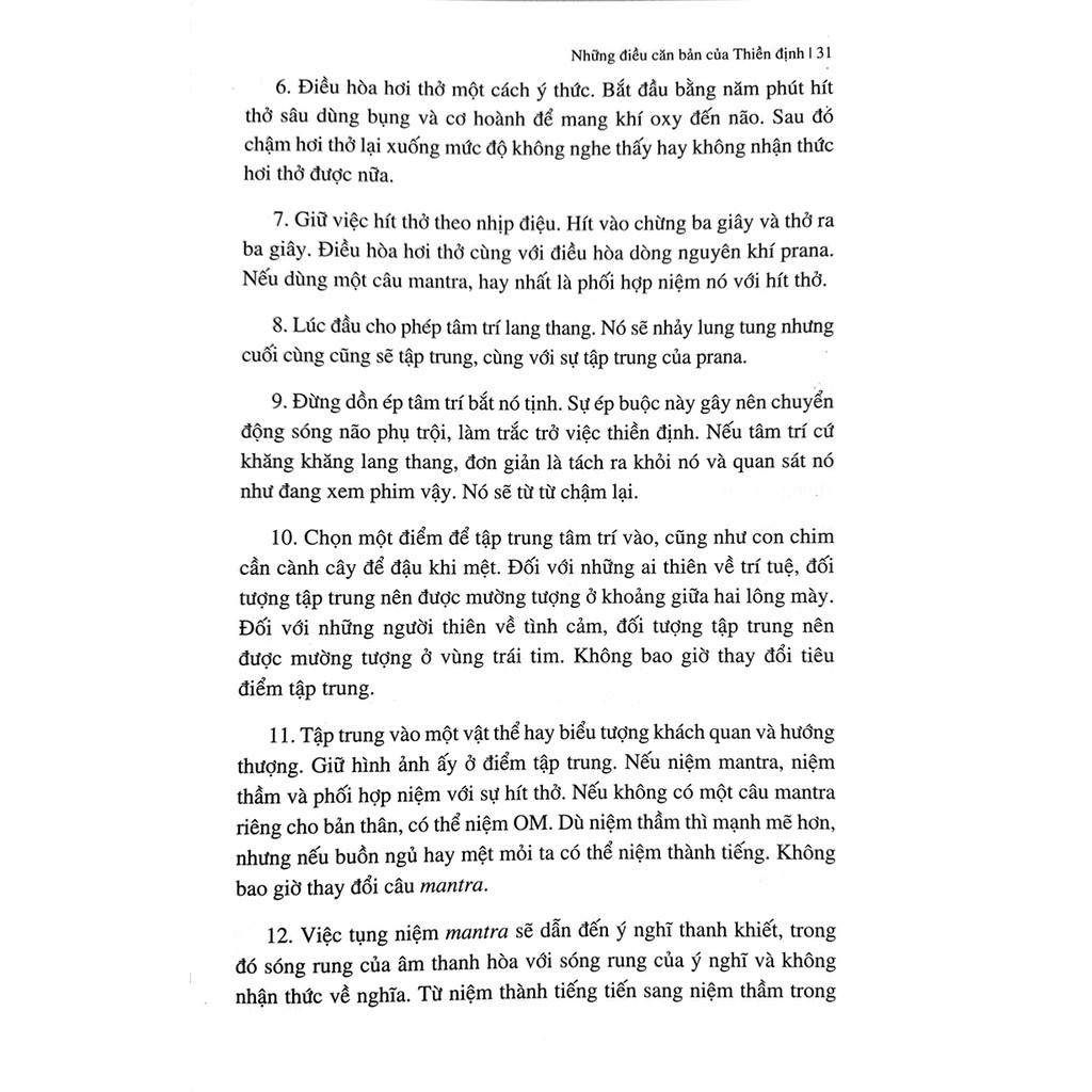 Sách - Thiền Định và Mantra