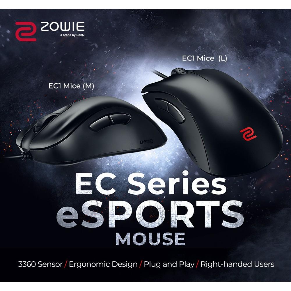 [Mã 267ELSALE hoàn 7% xu đơn 300K] Chuột Gaming BenQ Zowie EC Series - Hàng Chính Hãng