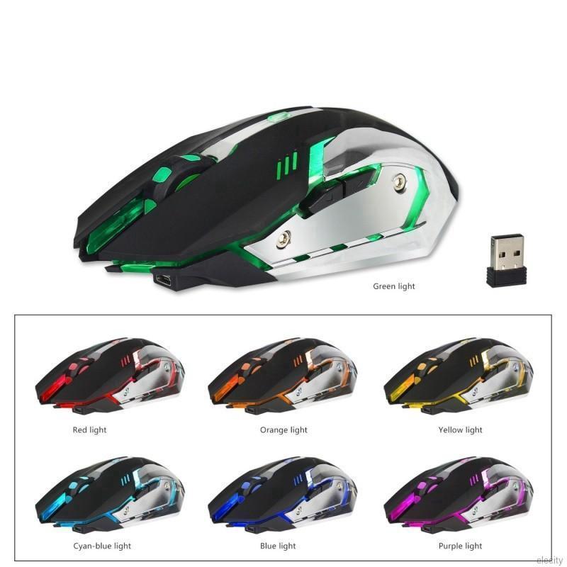 Chuột Gaming không dây tích hợp đèn LED nhiều màu
