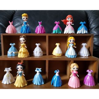 Bộ 6 công chúa thay váy