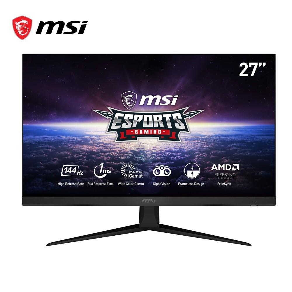 [Mã ELMALL7 giảm 7% đơn 499K] Màn hình Gaming MSI Optix G271 IPS FHD 144Hz 1ms