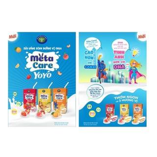 Sữa uống dinh dưỡng vị chua metacare yoyo 110ml
