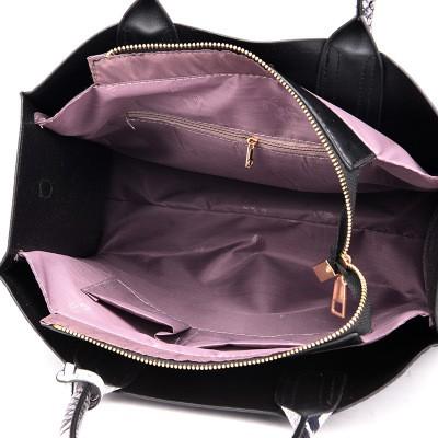 Túi xách nữ bản to họa tiết da cá sấu sang chảnh kèm theo ví vân da trăn TX14 túi xách đeo vai