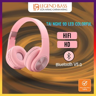 Tai nghe bluetooth chụp tai không dây LegendBass cao cấp, headphone bluetooth có thể gập gọn tiện lợi Tai nghe chơi game thumbnail