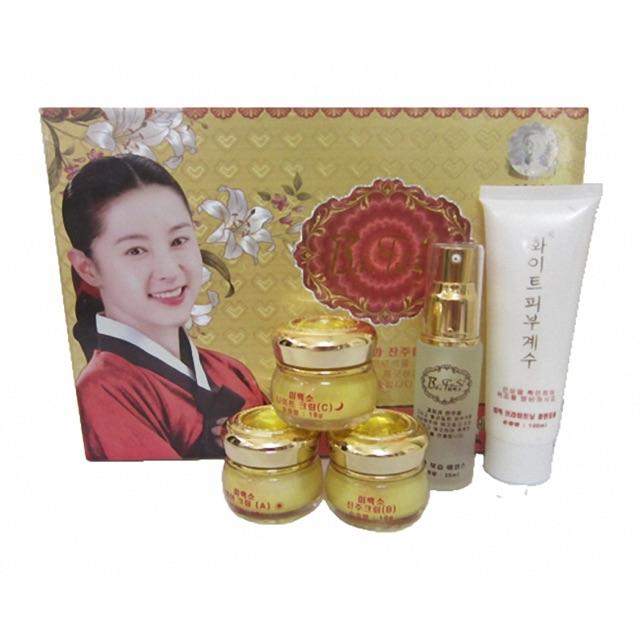 Bộ mỹ phẩm trắng da Hàn Quốc Baifusu - 2880246 , 383975127 , 322_383975127 , 1200000 , Bo-my-pham-trang-da-Han-Quoc-Baifusu-322_383975127 , shopee.vn , Bộ mỹ phẩm trắng da Hàn Quốc Baifusu