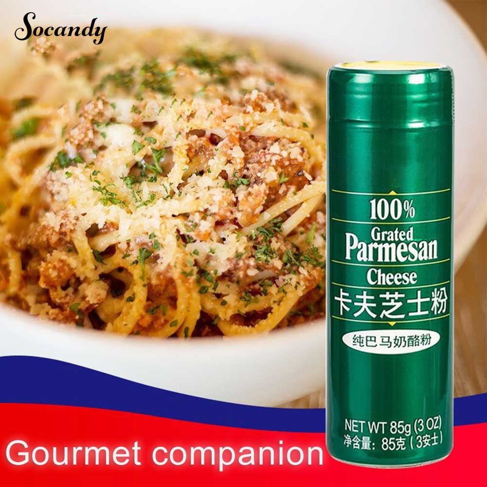 【in stock】85g Grated Parmesan Cheese Powder Salad Spaghetti Cake Condiment Baking Tool