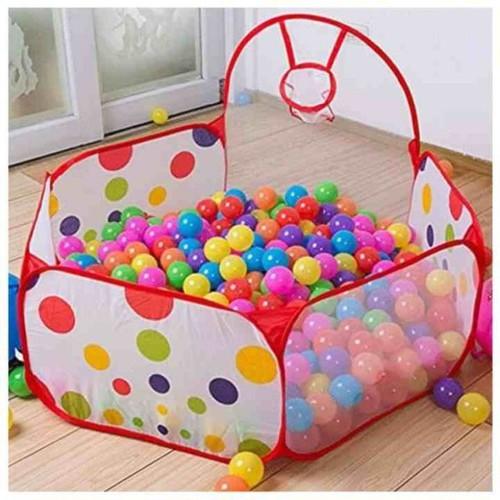 Lều bóng chấm bi tặng kèm 100 bóng nhựa