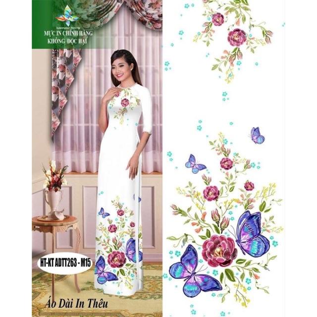 Vải áo dài in hoa 3D - 3025535 , 352125304 , 322_352125304 , 240000 , Vai-ao-dai-in-hoa-3D-322_352125304 , shopee.vn , Vải áo dài in hoa 3D