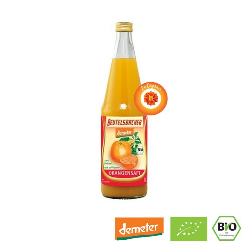 NƯỚC ÉP CAM HỮU CƠ BEUTELSBACHER (700ml) - Organic Orange Juice