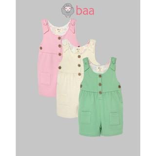 [Mã FARSBR242 giảm 15% đơn 99K] Jumpsuit short BAA BABY cho bé gái sơ sinh - GN-JS04N thumbnail