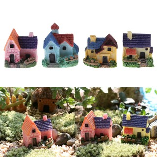MT Dollhouse Tiny DIY House villa Woodland fairy Planter garden home decor NY