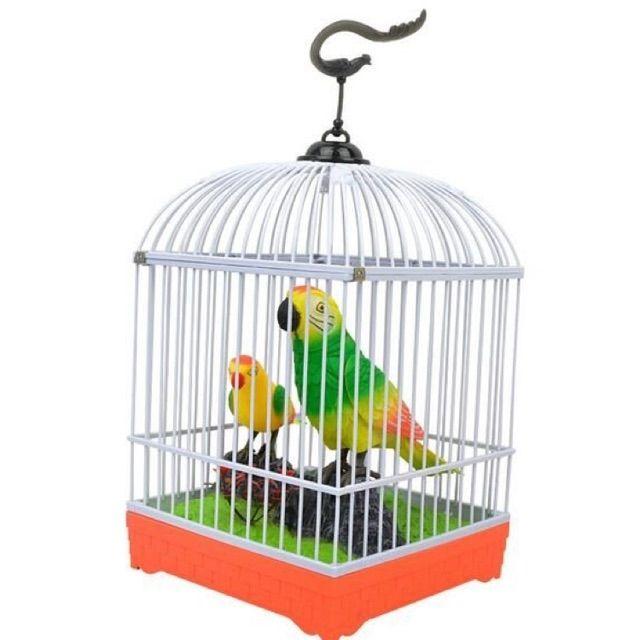 Lồng chim cảm ứng biết hót cho bé