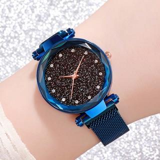 Đồng hồ thời trang nữ DIO full viền dây lưới nam châm - MS33