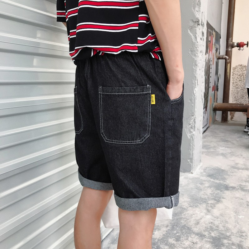 Quần Jeans nam thời trang màu trơn phong cách Hàn Quốc