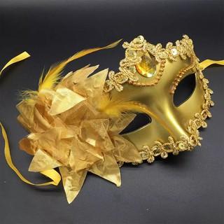 (hàng Có Sẵn) Mặt Nạ Hóa Trang Halloween Hình Hoa Lily
