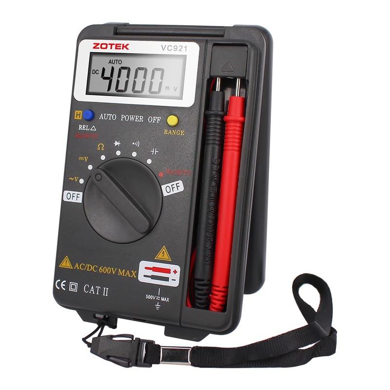 Đồng hồ vạn năng bỏ túi ZOTEK VC921