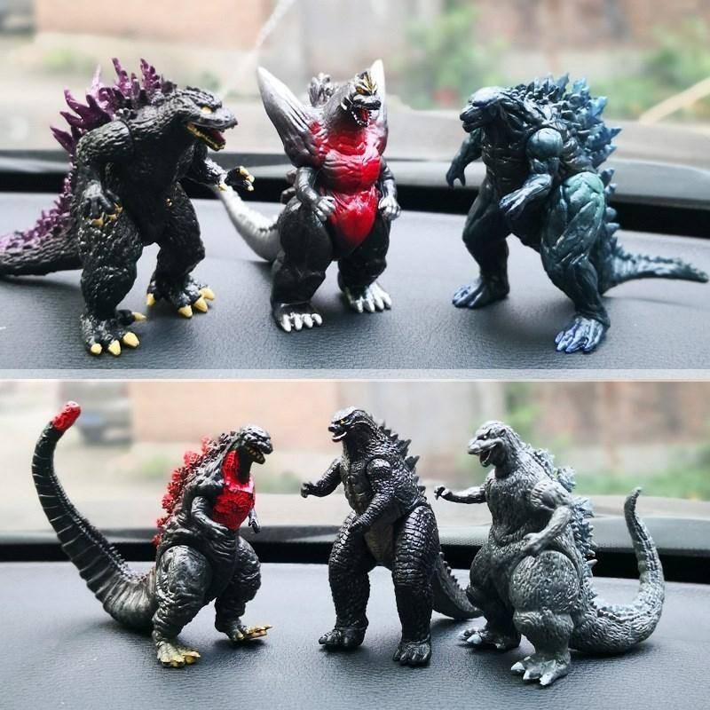 Mô Hình Đồ Chơi Quái Vật Godzilla Có Thể Di Chuyển Được 16 Cái