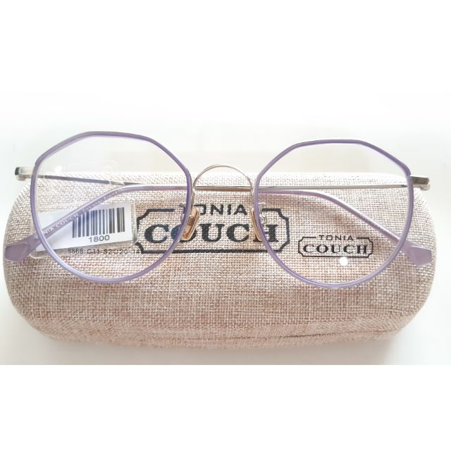 กรอบแว่นตา COUCH ม่วงพลาสเทล