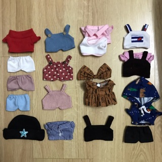 [Nhập TOYMAR giảm 10%]Outfit cho doll 15 – Tổng hợp mẫu lẻ
