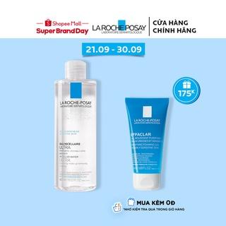 Nước làm sạch sâu và tẩy trang cho da nhạy cảm Micellar Water Ultra Sensitive Skin La Roche-Posay 400ml