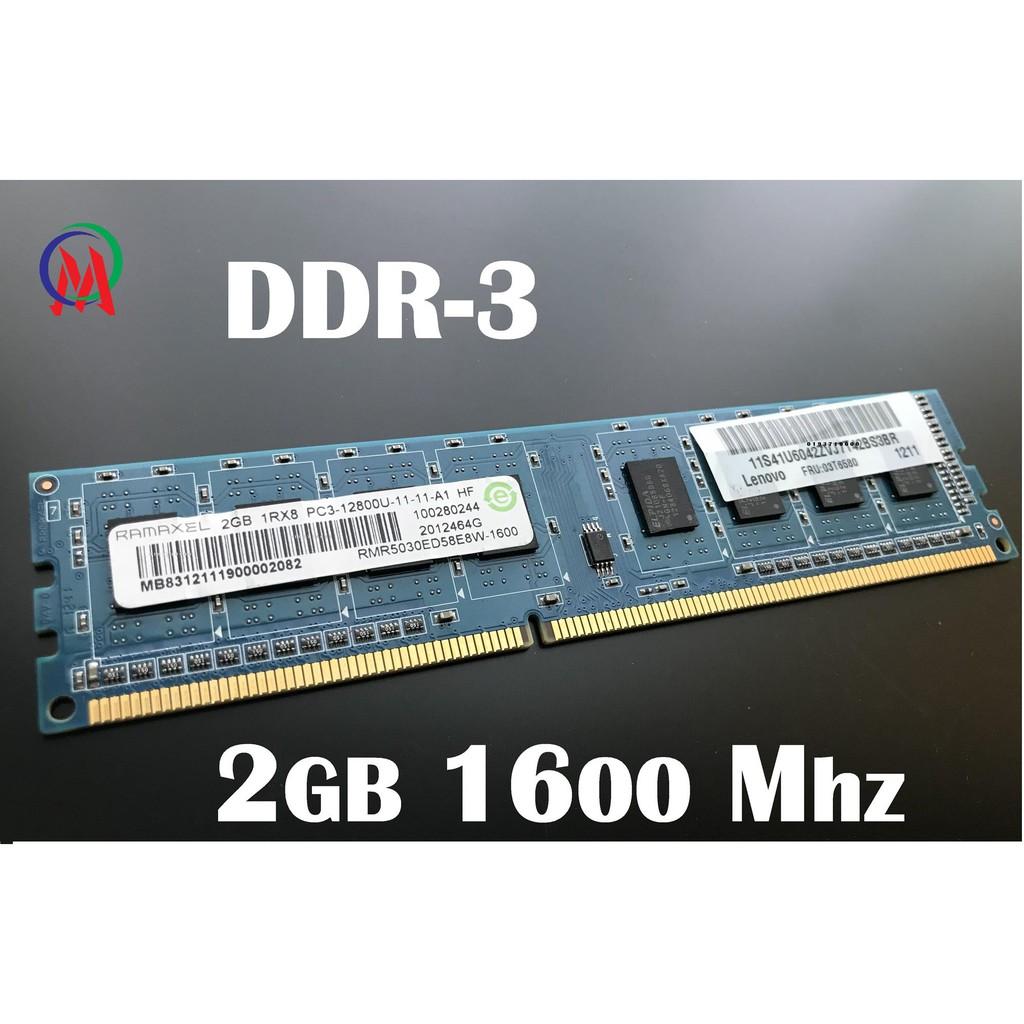 Ram 2G/1600 Máy Bộ Bảng Lớn