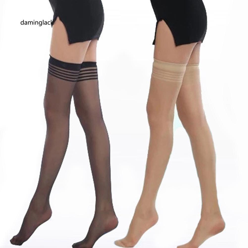 Đôi vớ đùi vải mỏng quyến rũ thời trang cho nữ