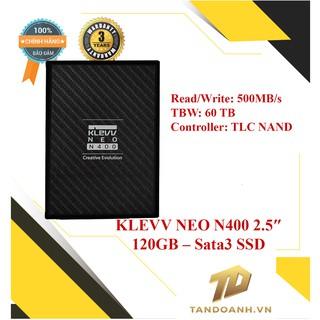 Ổ cứng SSD KLEVV NEO N400 2.5″ 120GB – Sata3