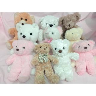 Combo gấu bông Teddy