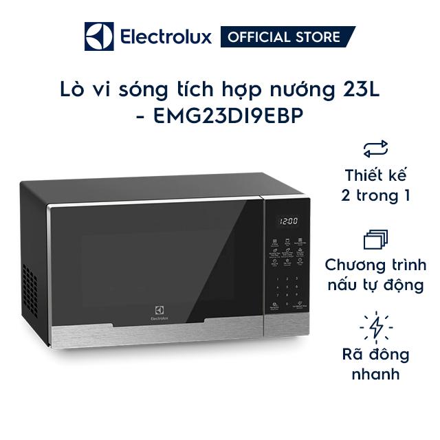 Lò vi sóng Electrolux có nướng 23 lít EMG23D