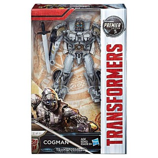 Mô hình Transformer The Last Knight Premier Edition Deluxe Cogman