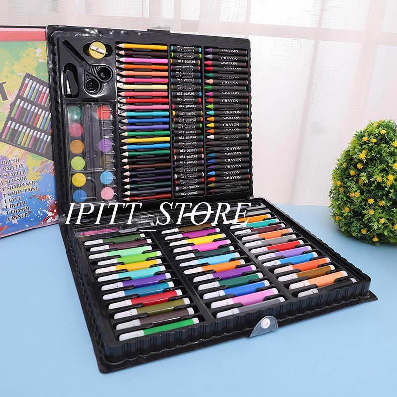 Hộp Bút Vẽ 150 Chi Tiết Cho Bé Hộp Bút Màu ảnh Thật Chỉ