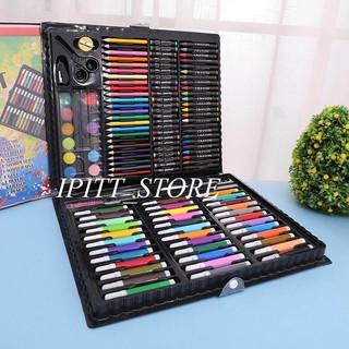 Hộp bút vẽ 150 chi tiết cho bé- hộp bút màu ( ảnh thật)