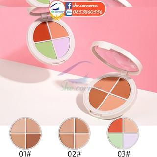 Bảng che khuyết điểm 4 màu MAYCHEER 995 tinh chất ốc sên dạng kem che quầng thâm, vết mụn lâu trôi 10 thumbnail