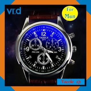 Đồng hồ thời trang Yazole 271 For Men - Mặt kính chịu lực