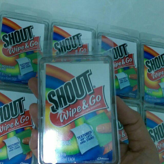Giấy tẩy đa năng Shout