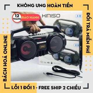 [Hàng chính hãng]Loa Bluetooth Karaoke Xách Tay KM-S1 S2 Kèm Mic Cao Cấp, loa blutooth karoke cao cấp- Bảo Hành 12 tháng