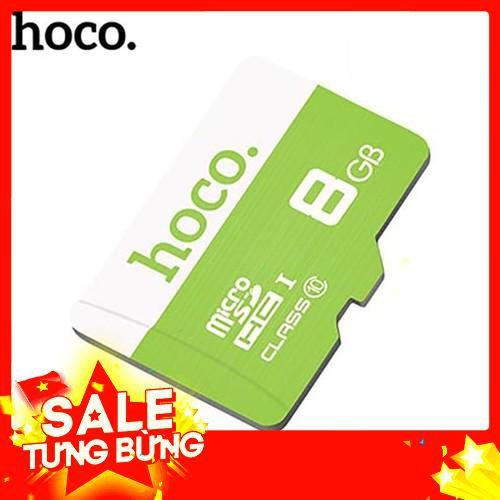 Sale Thẻ nhớ Miro SD Hoco 8Gb - Xanh lá Freeship