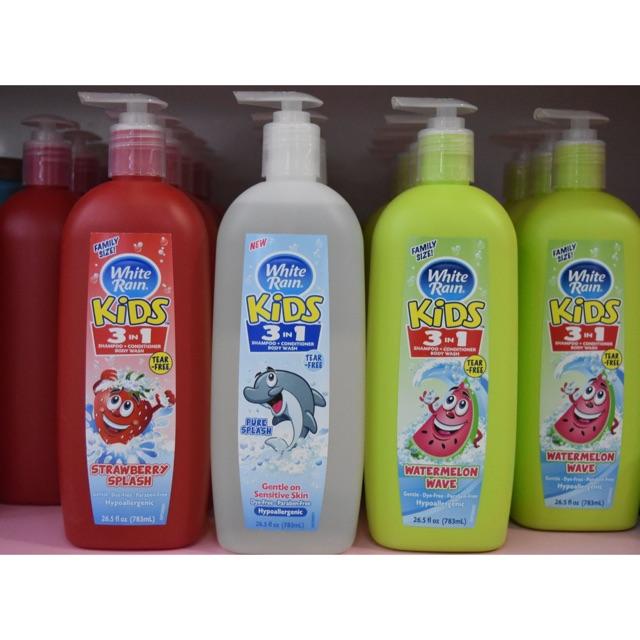 Sữa tắm gội xả cho Bé White Rain Kids 3 trong 1 - 2694843 , 171457766 , 322_171457766 , 85000 , Sua-tam-goi-xa-cho-Be-White-Rain-Kids-3-trong-1-322_171457766 , shopee.vn , Sữa tắm gội xả cho Bé White Rain Kids 3 trong 1