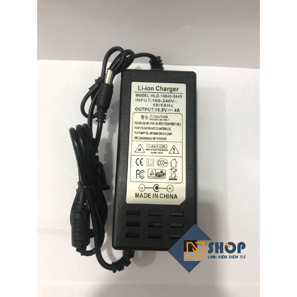 Adapter Sạc Pin 4S 16 8V 4A