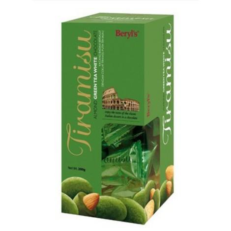 Socola trà xanh bọc hạnh nhân Tiramisu - 200g
